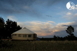 Fully-Furnished Forest Yurts near Denver, Colorado