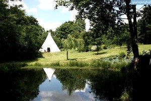 Cozy Tipi in the French Countryside of Normandy