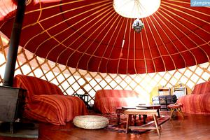 Glamping Yurts Tucked into the Great Langdale Valley