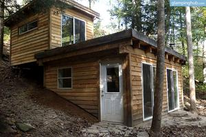 Off the Grid Cabin in the Middle of Red River Gorge Geological Area, Kentucky