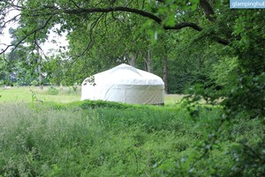 Handmade Yurts on Family-Friendly Site in Norwich, England