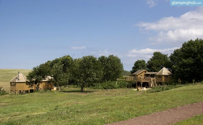 Tree House Cabins Scotland