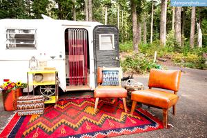 Vintage Trailer with Flexible Location in Hood River, Oregon