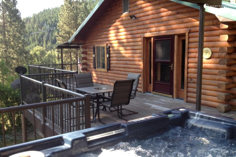 stunning luxury mountain cabin near seattle washington