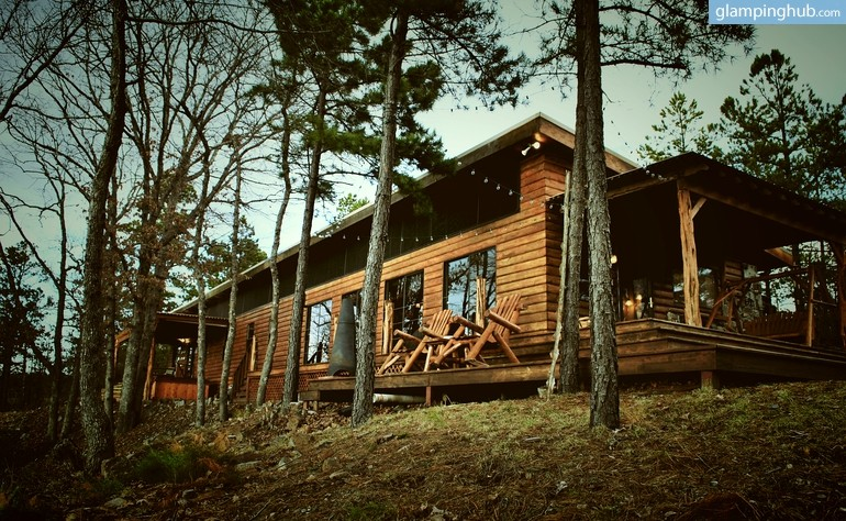 log cabin rental in oklahoma On ouachita national forest cabins