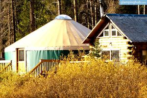 Large 16-Person Yurt Overlooking the Rocky Mountains in Colorado