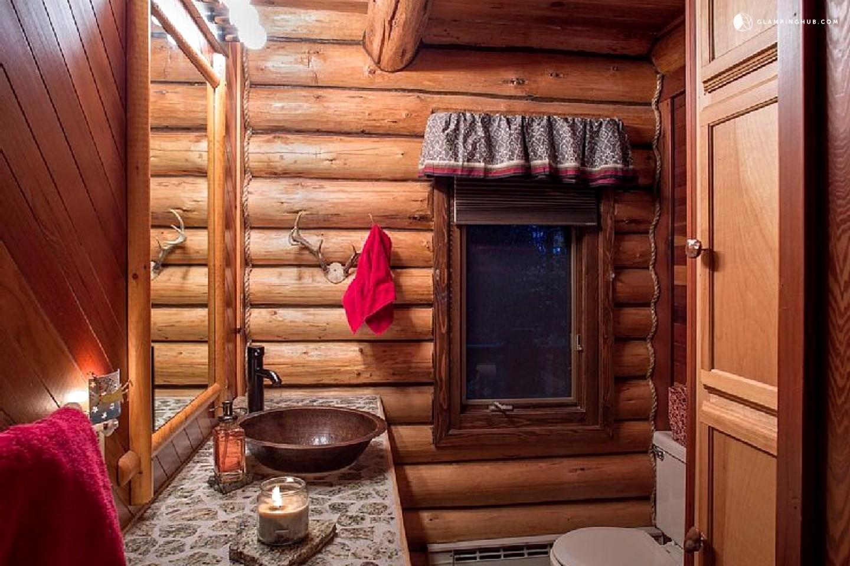Log Cabin Rental On Flathead Lake Montana