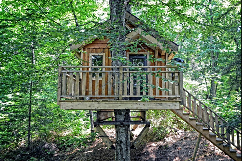 Tree House Rental Near Mont Tremblant Ski Resort