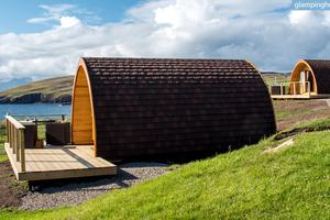 Enchanting Eco-Pods With Sparkling Sea Views in Scottish Highlands