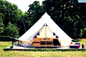 Lovely Bell Tents In Yorkshire, England