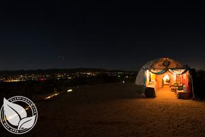 Lovely Dome Nestled in the Desert near Joshua Tree, Southern California