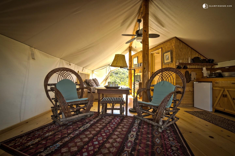 Safari Tent Camping In California Glamping In California