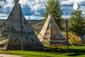 Luxurious Colorado Tipis Located Between Gunnison and Blue Mesa Lake