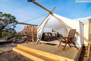 Luxury Desert Tents near Moab, Utah
