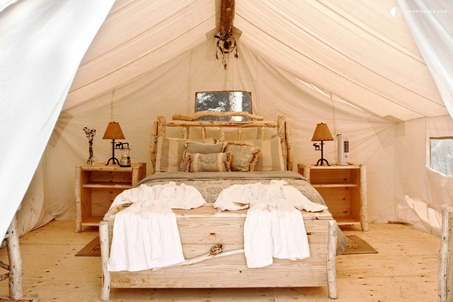 Luxury Tents In The Boreal Forest Canada Prospectors
