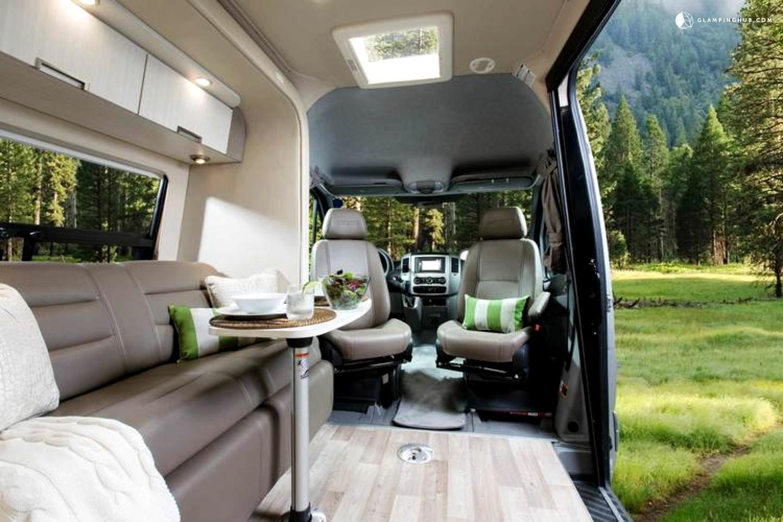 Luxury Vans: Luxury Caravan Rental USA