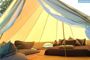 Luxury Tent for Couples or Groups in Queensland, Australia