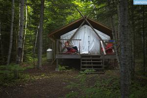 Luxury Tent Packages at Retreat Center for Well-Being in Ontario, Canada