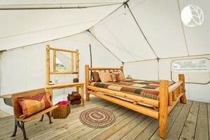 Luxury Tents near Wallowa Lake in Oregon