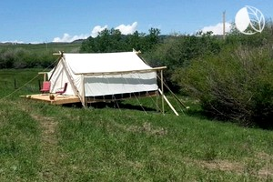 Luxury Tents of All Sizes at Wedding & Event Property near Mount Jefferson, Montana