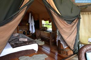 Luxury Tents Surrounded by Exquisite Flora and Fauna in New South Wales, Australia