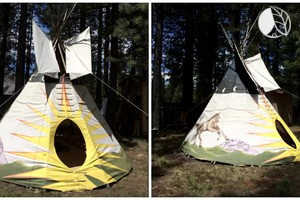 Luxury Tipi near Mount Bachelor, Oregon