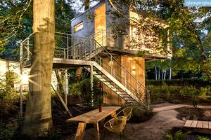 Modern Luxury Treehouses at the Edge of a Forest in Berlin