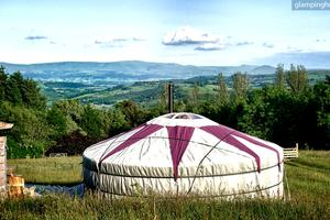 Mythical Yurts in the Picturesque Mid Wales Countryside