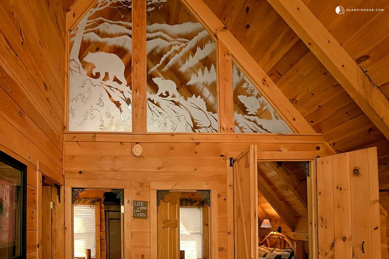 Log Cabin Rental Near Knoxville
