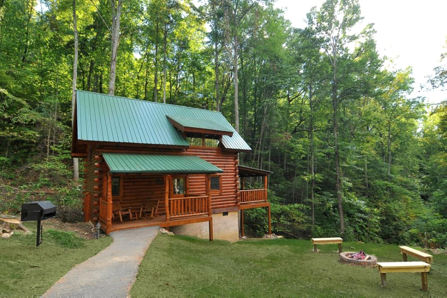 Cabin vacation rental near knoxville for Smoky mountain tennessee cabin rentals