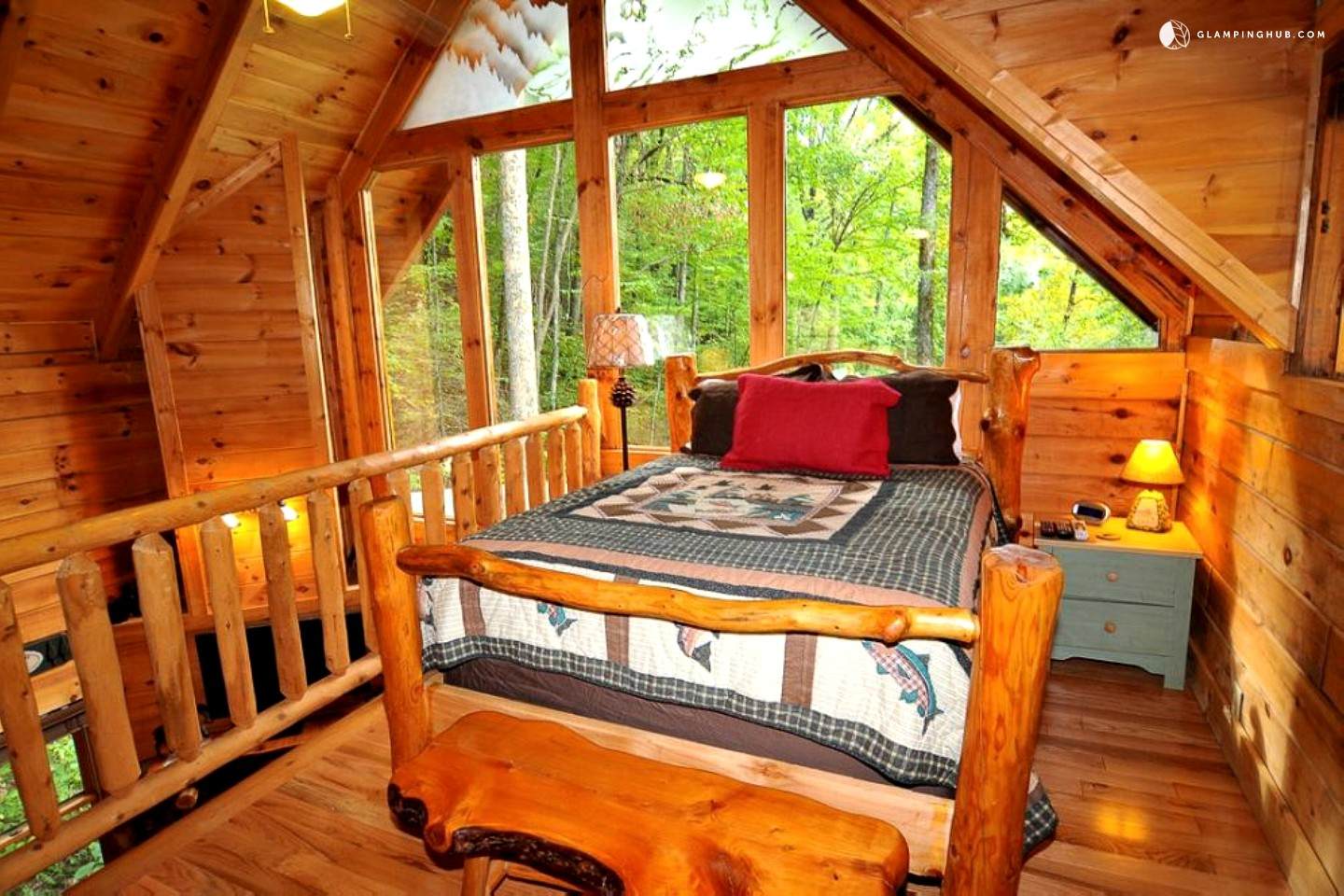 cabin vacation rental near knoxville