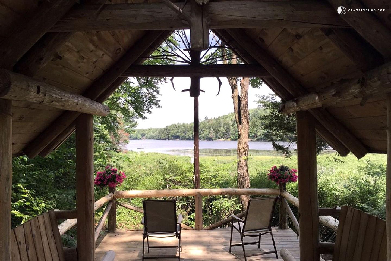 Lakefront Log Vacation Rental Cabin On Lake Nantahala North Carolina . Full resolution  snapshot, nominally Width 1440 Height 960 pixels, snapshot with #8A8941.