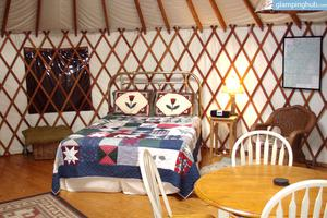 Peaceful and Cozy Yurts in Cherokee National Forest, Tennessee