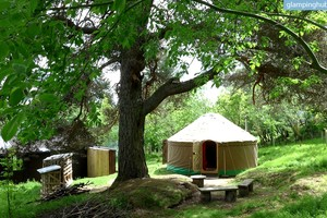 Peaceful and Spacious Yurt for Two in the Secluded Foothills of the Scottish Highlands