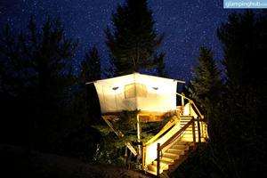 Original Canvas Treehouse Just Miles From Glacier National Park, Montana