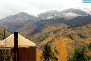 Peaceful Yurts Tucked Away in the Remote and Stunning San Juan Mountains, Colorado