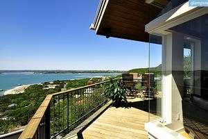 Private Tram up to Deluxe, Pet-Friendly Villa with Lake Views in Austin, Texas