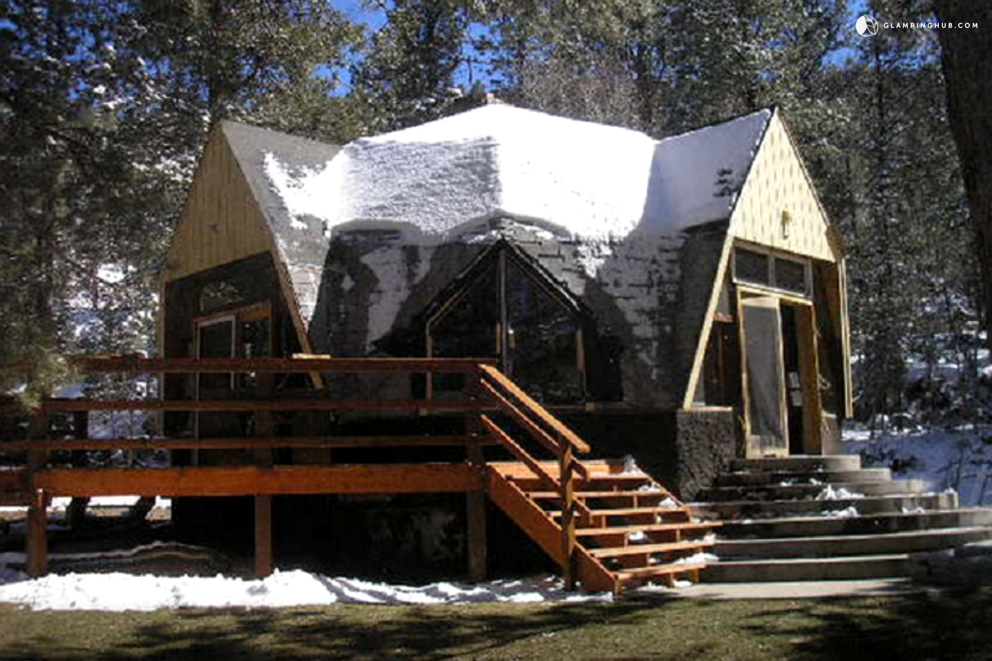 Cabin Camping In San Isabel National Forest Glamping In