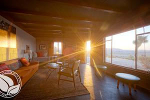 Renovated and Original Desert Homestead, California