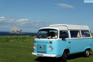 Retro Volkswagen Campervan Rentals in Scottish Borders