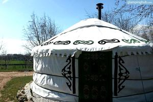 Beautiful Yurts For Rent in The Peak District, England