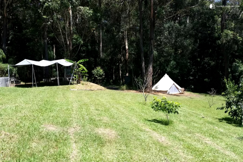 Romantic Luxury Tents near Beach, NSW