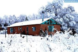 Romantic Suites on Eco-Friendly Farm near Taos, New Mexico