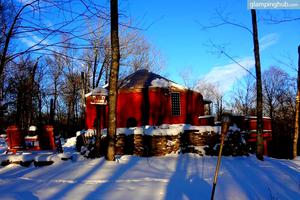 Rustic Glamping Yurt in Willowemoc Wild Forest, New York