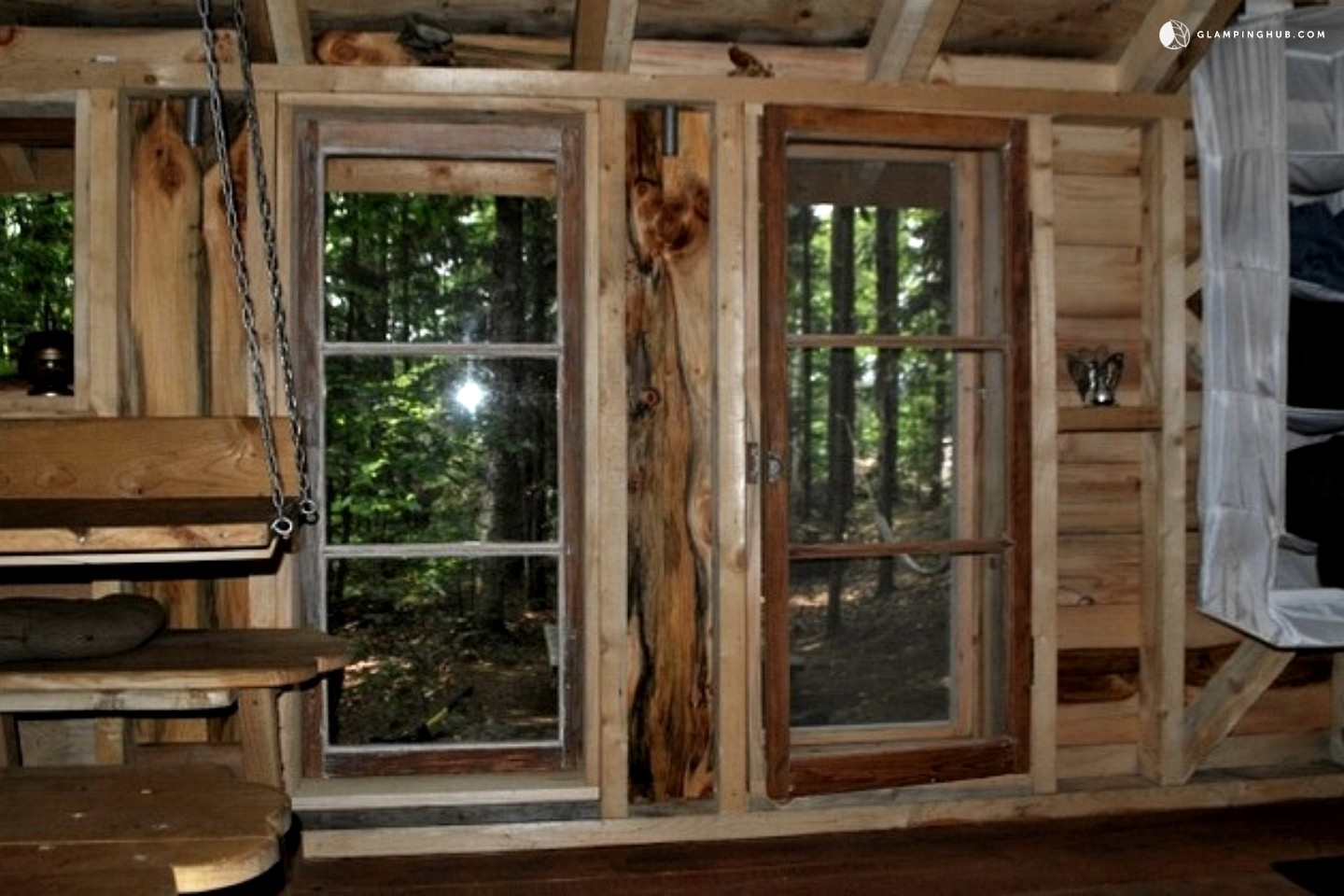Rustic cabin rental near montreal for Terrace 45 qc
