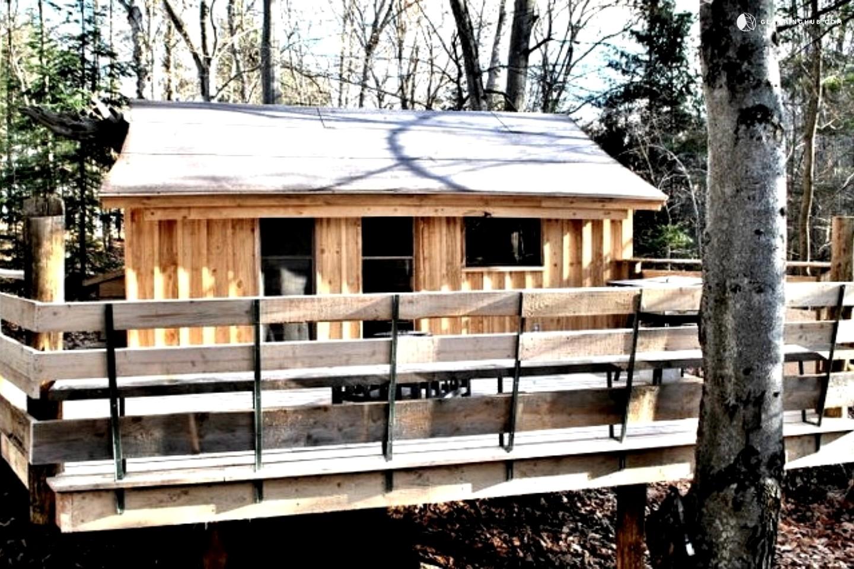 rustic cabin rental near montreal