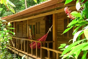 Beautiful Cabin Rental for Two with Hot Tub near Cahuita, Costa Rica