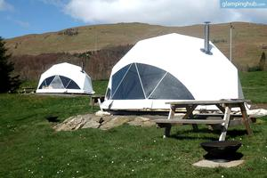 Scenic Dome Village with Spectacular Mountain Views, Scotland