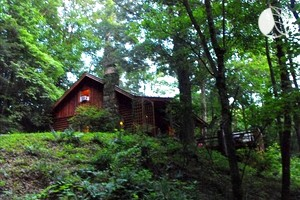 Secluded Log Cabin with Hot Tub in Helen, Georgia