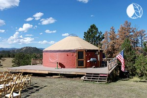 Secluded Yurt for Groups in Colorado Mountains
